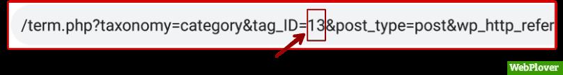 find id in WordPress