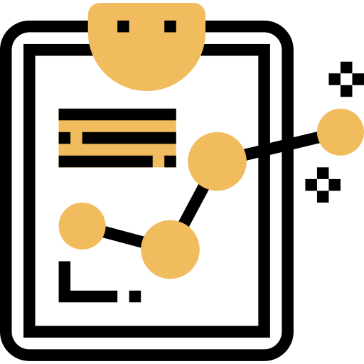 measurement and reporting icon