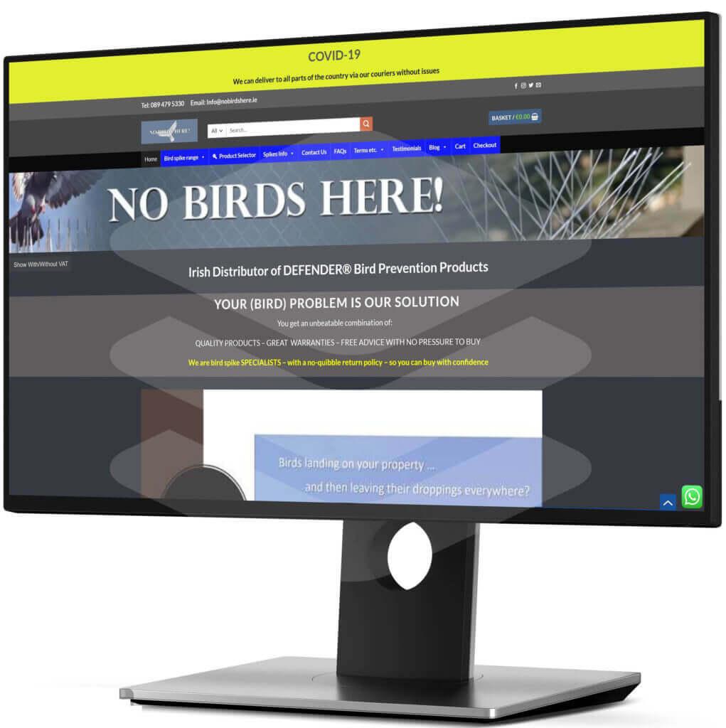 nobirdshere.ie 2 - WebPlover
